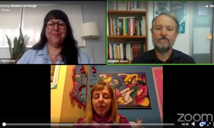 Medea Benjamin & Stephen Zunes: Peacemaker's delegation to Iran