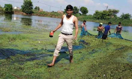 Determined to Save His Country's Water Supply, 26-Year-old Has Revived 10 Lakes From a Polluted Mess