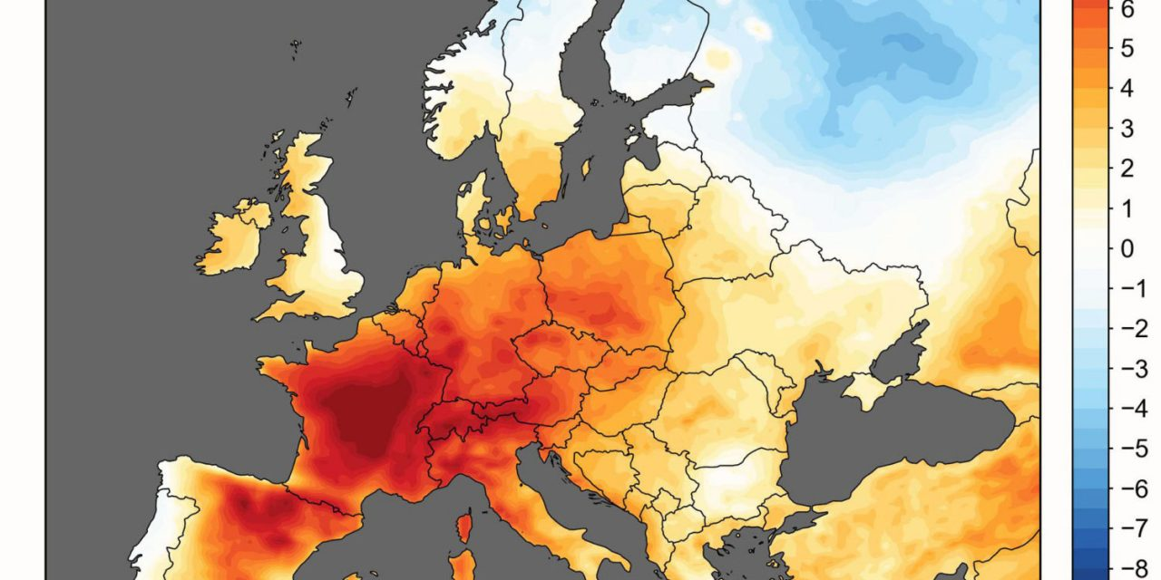 Climate Change Made Last Month's European Heatwave At Least Five Times More Likely