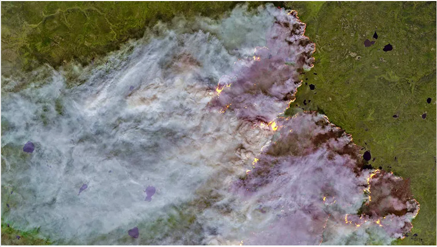 'Unprecedented' Wildfires in Arctic Have Scientists Concerned