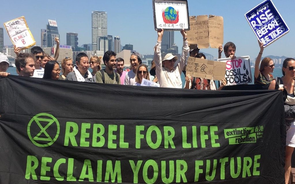 Extinction Rebellion Co-Founder Discusses Climate Emergency