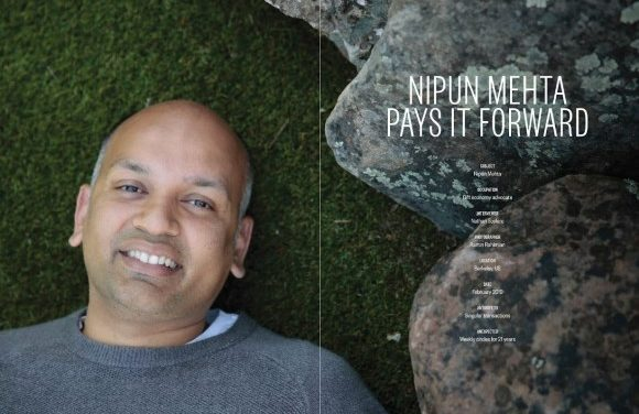 Paying It Forward: Interview With Nipun Mehta