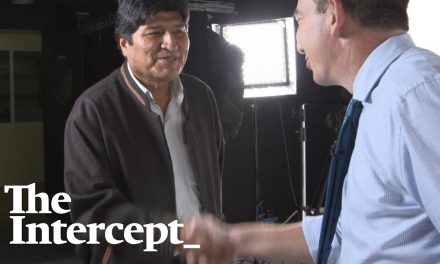 Glenn Greenwald's Exclusive Interview With Bolivia's Evo Morales, Who Was Deposed in a Coup