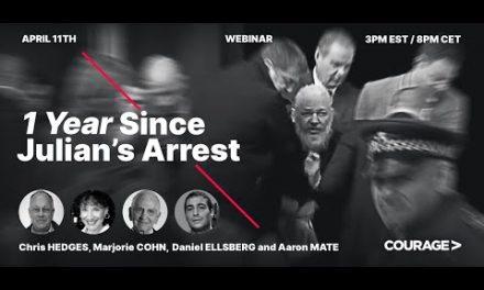 1 Year Since Julian Assange's Arrest: A Panel Discussion
