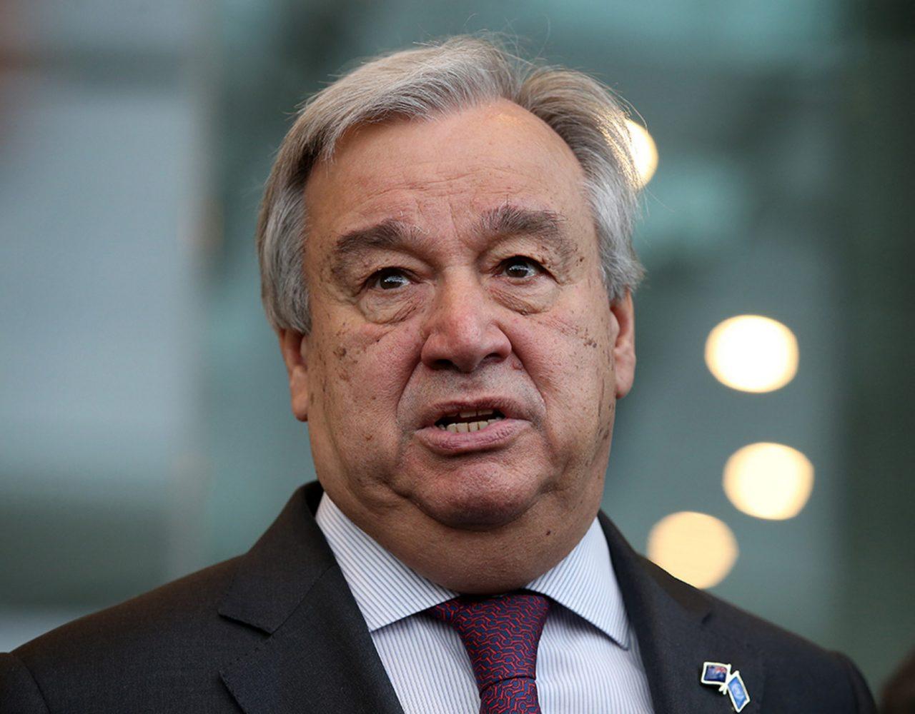 U.N. Chief Says There's a Bigger Threat Than Coronavirus