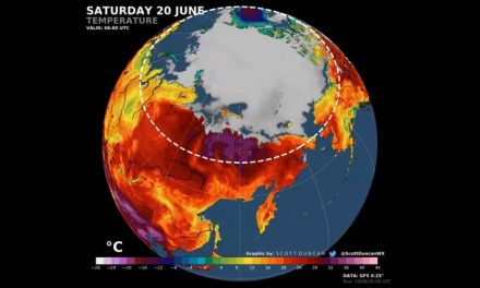 Arctic Hits Hottest Temperature on Record at 100.4 Degrees Fahrenheit
