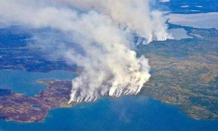 Freakish Arctic Fires Alarmingly Intensify