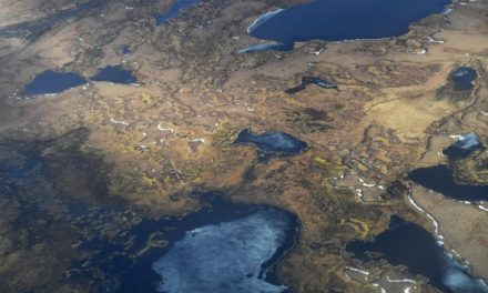 Large-Scale Permafrost Thawing