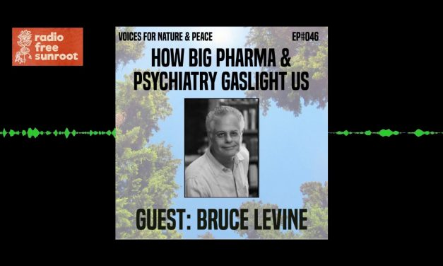 How Big Pharma & Psychiatry Gaslight Us: Interview with Bruce Levine
