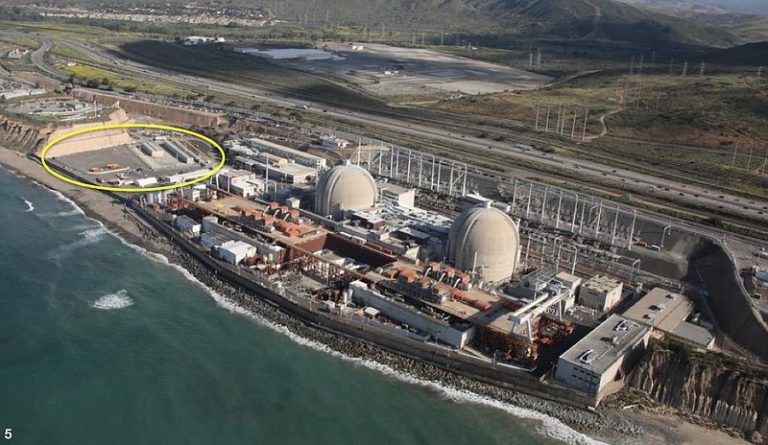 Nuclear Fuel Buried 108 Feet from the Sea