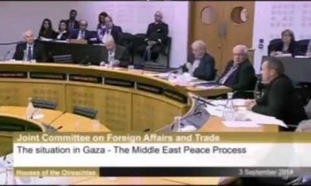 """Irish MP Names the """"Elephant in the Room"""" about Israel"""